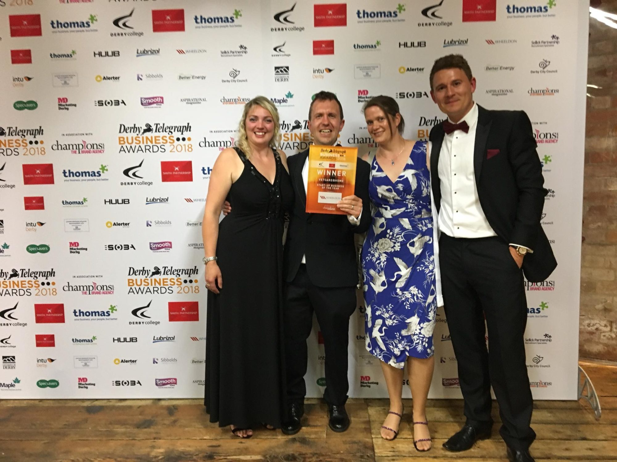 Winners of Start Up Business of the year!